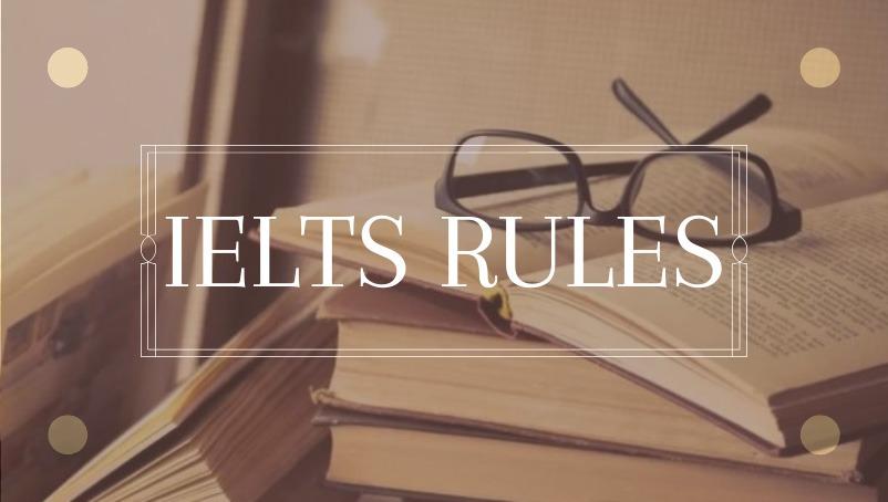 قوانین آیلتس